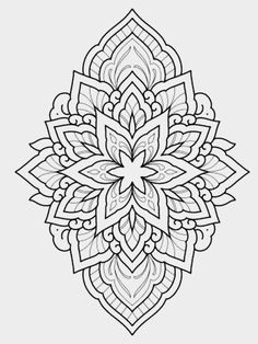 Discover recipes, home ideas, style inspiration and other ideas to try. Dotwork Tattoo Mandala, Geometric Mandala Tattoo, Mandala Tattoo Design, Mandala Drawing, Mandala Art, Tattoo Designs, 4 Tattoo, Color Tattoo, Tattoo Drawings