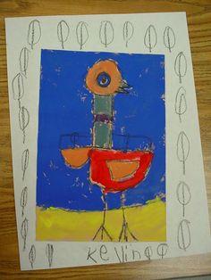 Mrs. Knight's Smartest Artists: Pigeon Pizzazz