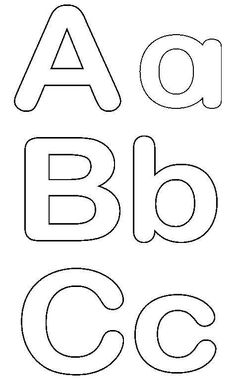 printable free alphabet templates the group board on pinterest
