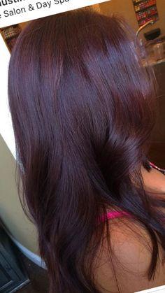 Lilac Hair, Burgundy Hair, Hairstyle Ideas, Hair Ideas, Beauty Stuff, Hair Beauty, Red Hair Looks, Lob Haircut, Haircut And Color