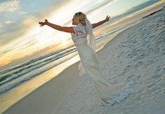 beach wedding :)