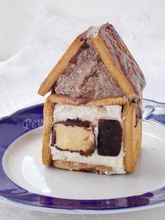 творожный домик с сырком