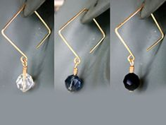 Square Ear Wire Earrings                                                                                                                                                                                 More