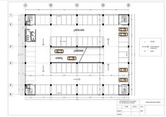 car parking building plan on Behance Parking Plan, Parking Building, Car Parking, Car Park Design, Parking Design, Building Design Plan, Building Plans, Garage Floor Plans, House Floor Plans