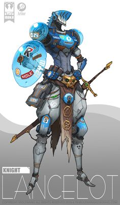 ArtStation - knight, mole wang