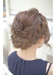 くしゅっと編み込みアップ/ヘアセット&メイク専門店 risa. 恵比寿 【リサ】をご紹介。2019年冬の最新ヘアスタイルを300万点以上掲載!ミディアム、ショート、ボブなど豊富な条件でヘアスタイル・髪型・アレンジをチェック。 Up Styles, Long Hair Styles, Makeup Tips, Hair Makeup, Hair Setting, Yukata, Hair Hacks, My Hair, Wedding Hairstyles