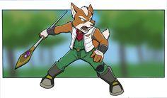 Adventures by CirrusKitfox on DeviantArt Fox Mccloud, Fox Series, Star Fox, Art Memes, Furry Art, Character Concept, Videogames, Favorite Things, Pokemon