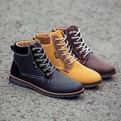 Aliexpress.com : Buy England men's boots 2015 autumn winter shoes ...