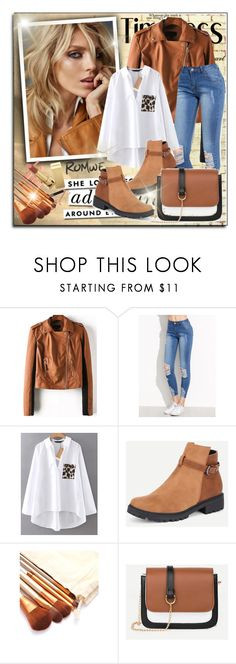 """""""Romwe 7/10"""" by sanela1209 ❤ liked on Polyvore featuring Anja and Kate Spade"""
