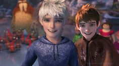 Rise of the Guardians - Jack Frost, human and guardian < Ah yes.  Precious, beautiful child.
