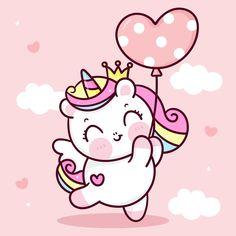Unicorn Drawing, Unicorn Doll, Unicorn Art, Cute Unicorn, Doodles Kawaii, Cute Kawaii Drawings, Cute Doodles, Hug Cartoon, Doodles Bonitos