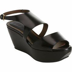 Marni Slingback Wedge Sandal at Barneys.com