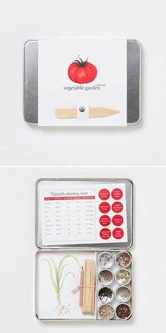 Organic Vegetable Garden Kit by Terrain