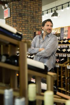 Jeremy Block, the owner of Some Good Wine, has a particular passion for wines from the Canary Islands, Corsica and the Czech Republic. (Photo: Sasha Maslov for The New York Times)