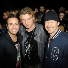 Howie, Nick, & Donnie <3