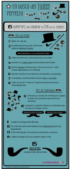15 super tips para enviar el tweet perfecto