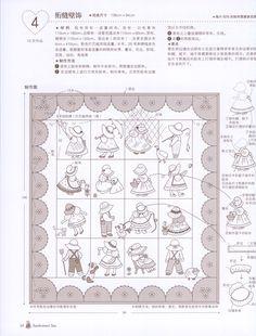Pattern Quilt Sunbonnet