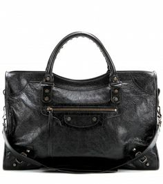 Classic City Leather Tote by: Balenciaga