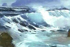E. John Robinson - Awesome watercolor work