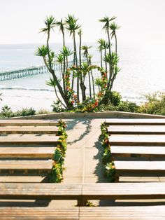 A simple, yet beautiful beach ceremony