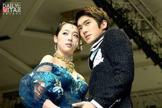 Siwon and Sulli at Andre Kim's Fashion Show