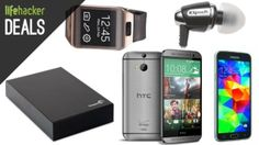 Hard drives galore, the best new Android phones, earbuds, and more in today's deals.