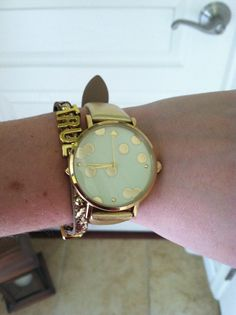 My Kate Spade watch!