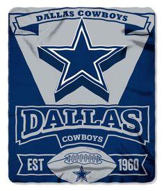 Dallas Cowboys 50x60 Fleece Blanket - Marque Design