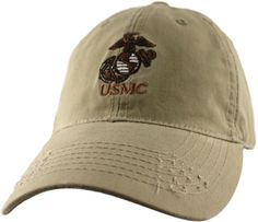 Please enjoy this Marine Corps Unrestricted Cap. This cap is direct  embroidery and is a eee4d013e5fd