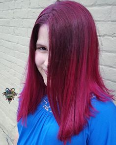 Merbabys!! 11 year old Scarlett zee merbaby ❣️ and her pink raspberry color ❣️ #arcticfoxhaircolor #manicpanic #brazilianbondbuilder #b3 #behindthechair #modernsalon #beautylaunchpad #hotonbeauty #americansalon #hairbykaseyoh