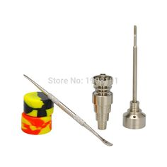 Wax Carving Tool,Titanium Cap Wax Tool,Wax Kit,Male and Female 10mm//14mm//18mm