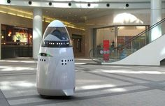 Robotic security guards are already patrolling businesses and look set to relieve more human protect... - Knightscope