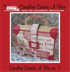 3 Kissen box Crealies Create A Box no