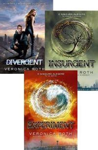 Intr-un Chicago distopic, oraşul în care trăieşte Beatrice Prior, societatea este împărţită în cinci facţiuni, fiecare dintre ele cultivând o anumită virtute: Candoarea (cei sinceri), Abnegaţia (cei altruişti), Neînfricarea (cei curajoşi), Prietenia (cei paşnici) şi Erudiţia (cei inteligenţi). Veronica Roth, Insurgent, Divergent, Science Fiction, Chicago, Fantasy, Movies, Movie Posters, Sci Fi