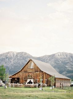 Beautiful Reception Barn (featured on inspiringpretty.com)