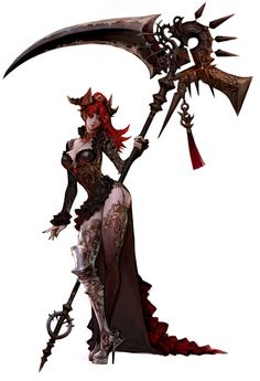 I dont know if this is steam punk or high fantasy, but its awesome. 3d Fantasy, Fantasy Weapons, Fantasy Warrior, Anime Fantasy, Fantasy Girl, Fantasy Artwork, Dark Fantasy, Female Character Design, Character Design Inspiration