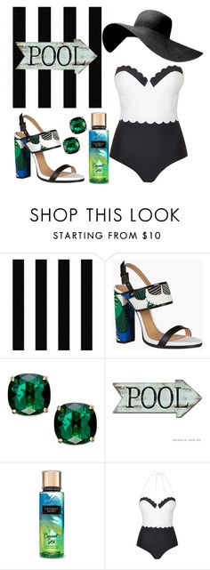 """""""Untitled #44"""" by renatka-stranska ❤ liked on Polyvore featuring Graham & Brown, Dsquared2, Kate Spade and Topshop"""
