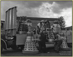 PETERCUSHINGBLOG.BLOGSPOT.COM (PCASUK): 'DR WHO AND THE DALEKS' PUBLICITY PHOTOGRAPHS: CANNES, SHEPPERTON AND KERBSIDE.