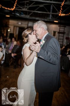 Father and daughter dance reception pictures at The Standard in downtown Knoxville by Amanda May Photos