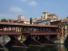 Bassano z01 - Ponte Vecchio, Bassano - Wikipedia, the free encyclopedia