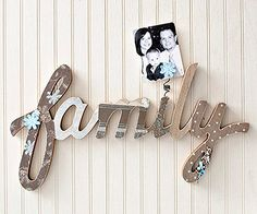 Wooden Word Wall Hanging