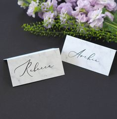 Pack of 12 Blank or Personalised Seating Cards Vintage Wedding  Dinner Party Guest Table Setting Name Cards Afternoon Tea Place Cards