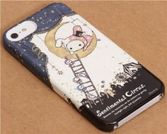 Sentimental Circus bunny Shappo moon iPhone 5 hardcover case