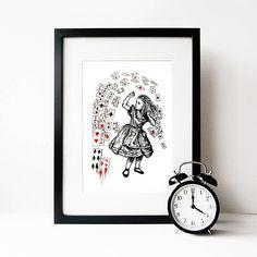 alice collection print by eleanor stuart | notonthehighstreet.com