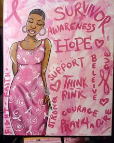 Gypsy Eyes, Cancer Tattoos, Simple Canvas Paintings, Black Love Art, Cartoon Painting, Cancer Cure, Pink Art, Diy Stickers, Dibujo