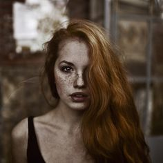 Daria Sidorchuk, such a beautiful red-head. ((Character Reference: Lilly Luna Potter))