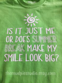 ae45800fb582 Fun summer t-shirts on Etsy. Customization available. Great gift ideas