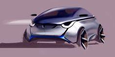Fashion and Lifestyle Car Design Sketch, Car Sketch, Industrial Design Sketch, Smart Car, City Car, Futuristic Cars, Car Drawings, Automotive Design, Automotive Engineering