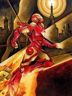Iron Man- by Michael Kungl