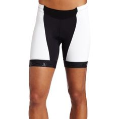 Pearl Izumi Womens Elite Intercool Cut ShortBlackWhiteLarge    See this  great product. 70a9015880fce